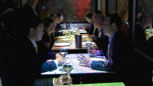 Customers dining at inamo